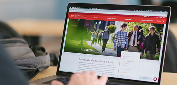 Website Redesign for Grove City College