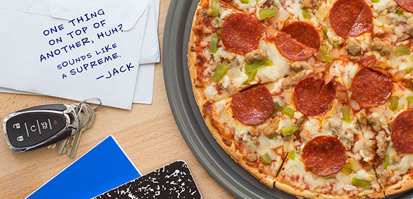 Social Campaign for Jacks Pizza